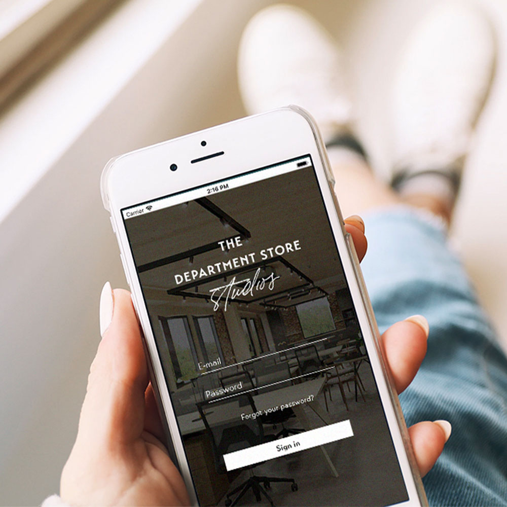 The Department Store Studios Mobile App